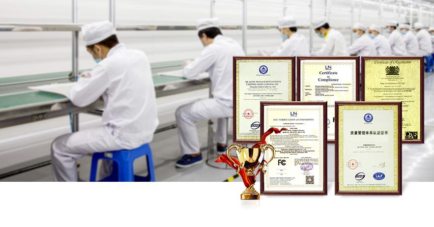 金倍克通过多项国际认证