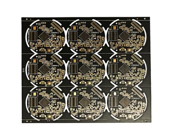 黑油沉金电路板