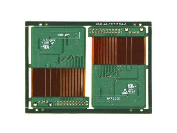 汽车变频器软硬结合板-2层