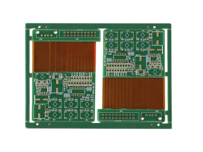 汽车变频器软硬结合板