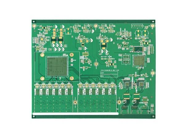 8层无线路由器PCB板