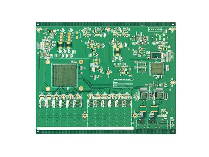 8层无线路由器PCB
