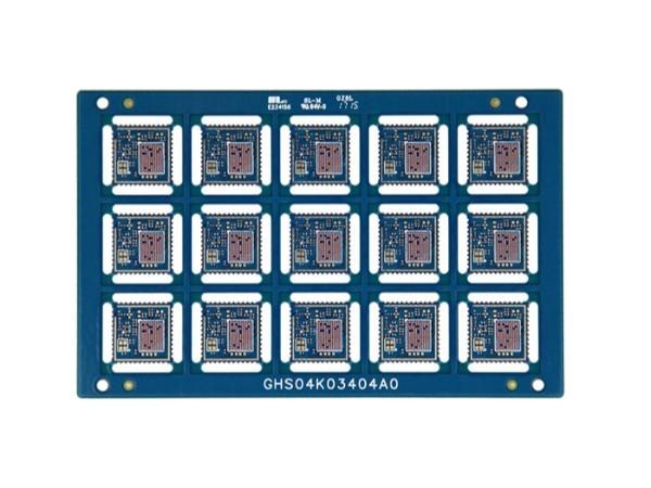 通讯模块HDI-4层一阶+半孔