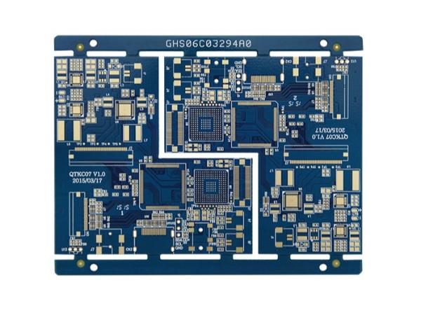 通讯手机HDI-6层二阶