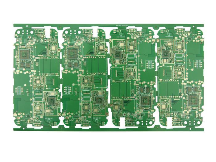 通讯手机HDI-6层一阶