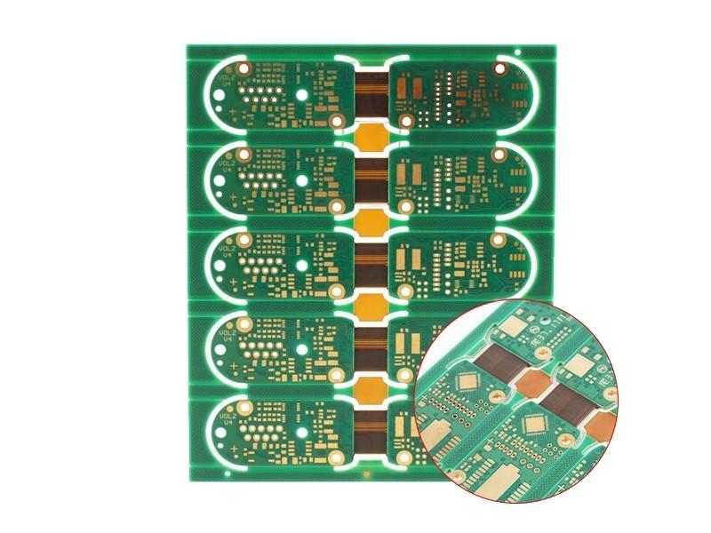 4层2-OZ厚铜PCB刚挠板