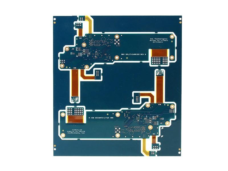 16层PI材质PCB 电路板 多层刚挠PCB板