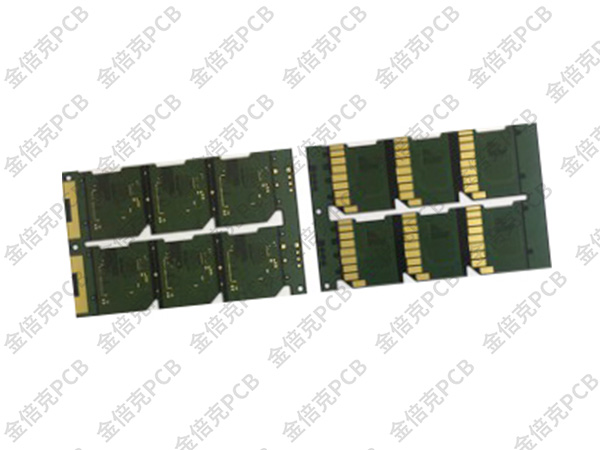 IC载板PCB_微SD卡厚金板