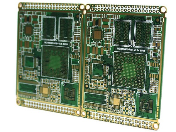 8层PCB沉金板