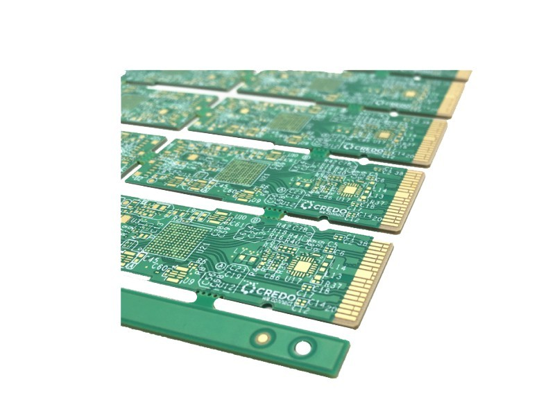 6层通孔填充带阻抗PCB线路板