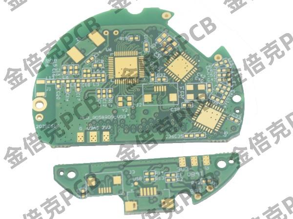 四层绿油沉金PCB