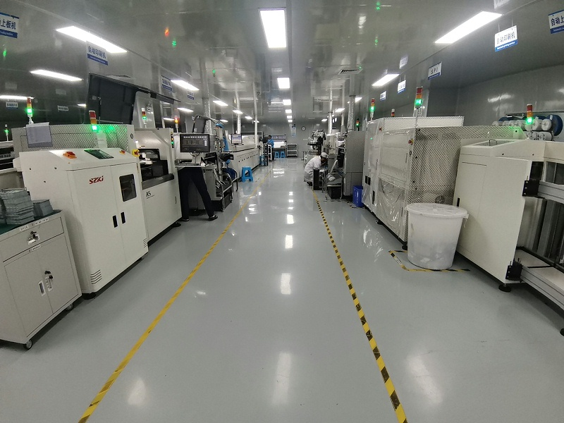 pcb打样工厂,深圳市金倍克电子的SMT产线展示