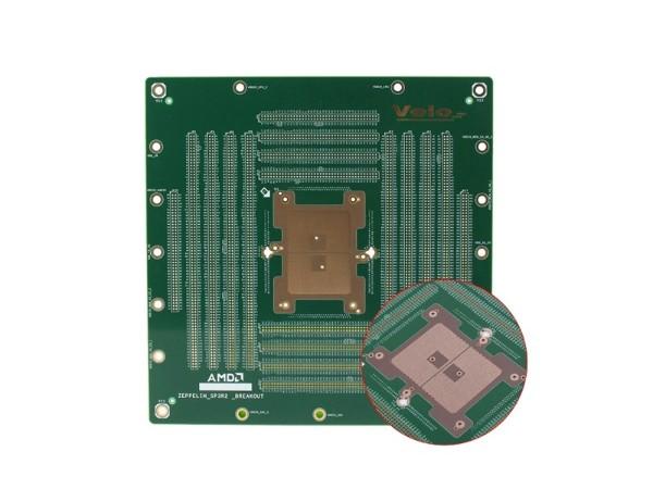 18层半导体材质PCB线路板
