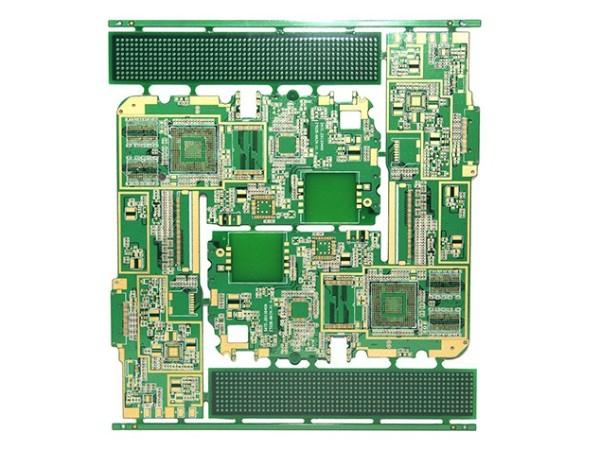 4层高密度沉金PCB板